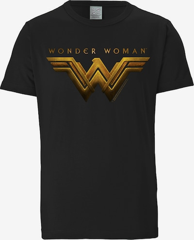 LOGOSHIRT T-Shirt 'Wonder Woman' in schwarz, Produktansicht
