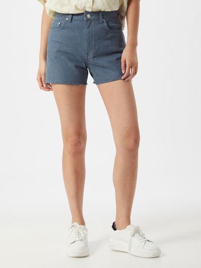 NU-IN Teksapüksid sinine denim, Modellivaade