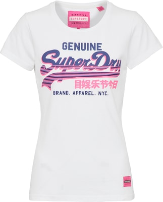 Superdry T-Shirt 'VINTAGE LOGO GENUINE ENTRY'