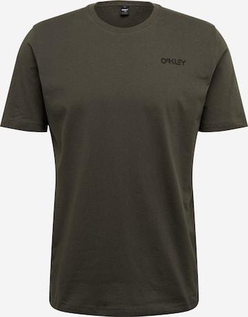 OAKLEY Funksjonsskjorte 'BACK AD HERITAGE' i grønn