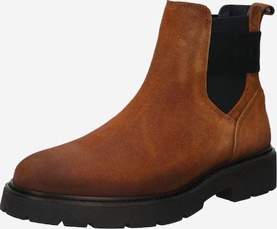 TOMMY HILFIGER Chelsea Boots in karamell / schwarz, Produktansicht