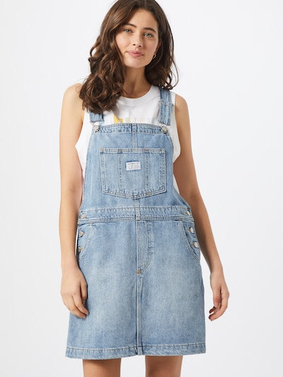 LEVI'S Kleid 'Norah W' in blue denim, Modelansicht