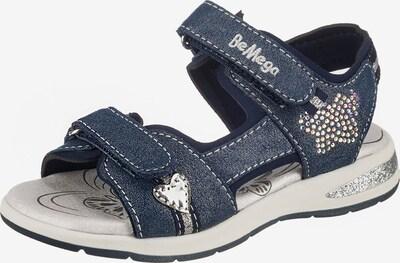 Be Mega Sandale in nachtblau, Produktansicht
