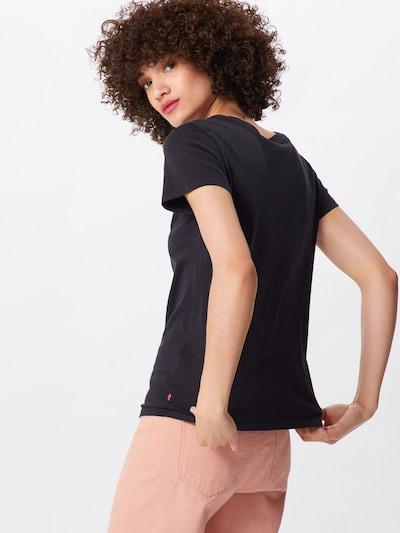 LEVI'S T-shirt 'THE PERFECT TEE' en noir: Vue de dos