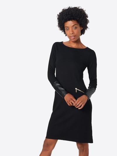 ABOUT YOU Robe 'Mia' en noir, Vue avec modèle