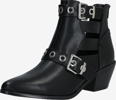 ONLY Bottines 'ONLTOBIO PU CUT OUT BUCKLE BOOT' en noir, Vue avec produit