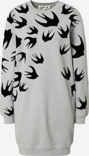 McQ Alexander McQueen Kleid in grau / schwarz, Produktansicht