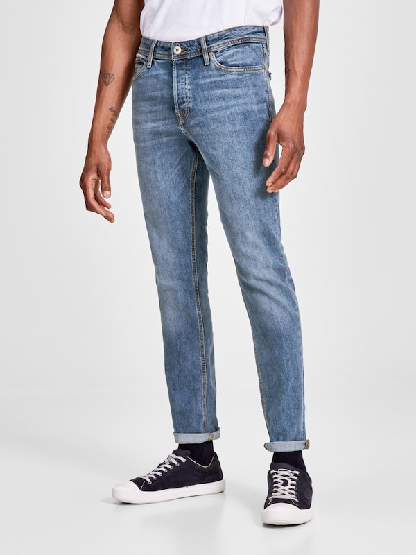 JACK & JONES 'TIM ORIGINAL AM 654 LID' Slim Fit Jeans