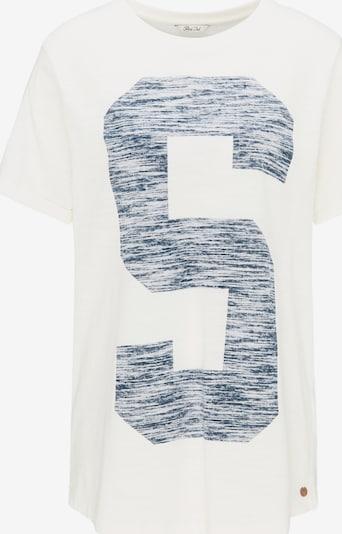 Petrol Industries T-Shirt in himmelblau / naturweiß, Produktansicht