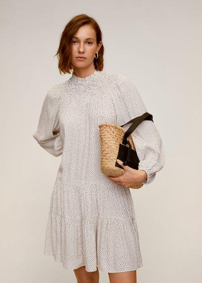 MANGO Letní šaty ' valen ' - bílý melír, Model/ka