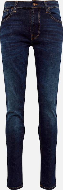 Nudie Jeans Co Jeans 'Lean Dean' in blue denim: Frontalansicht