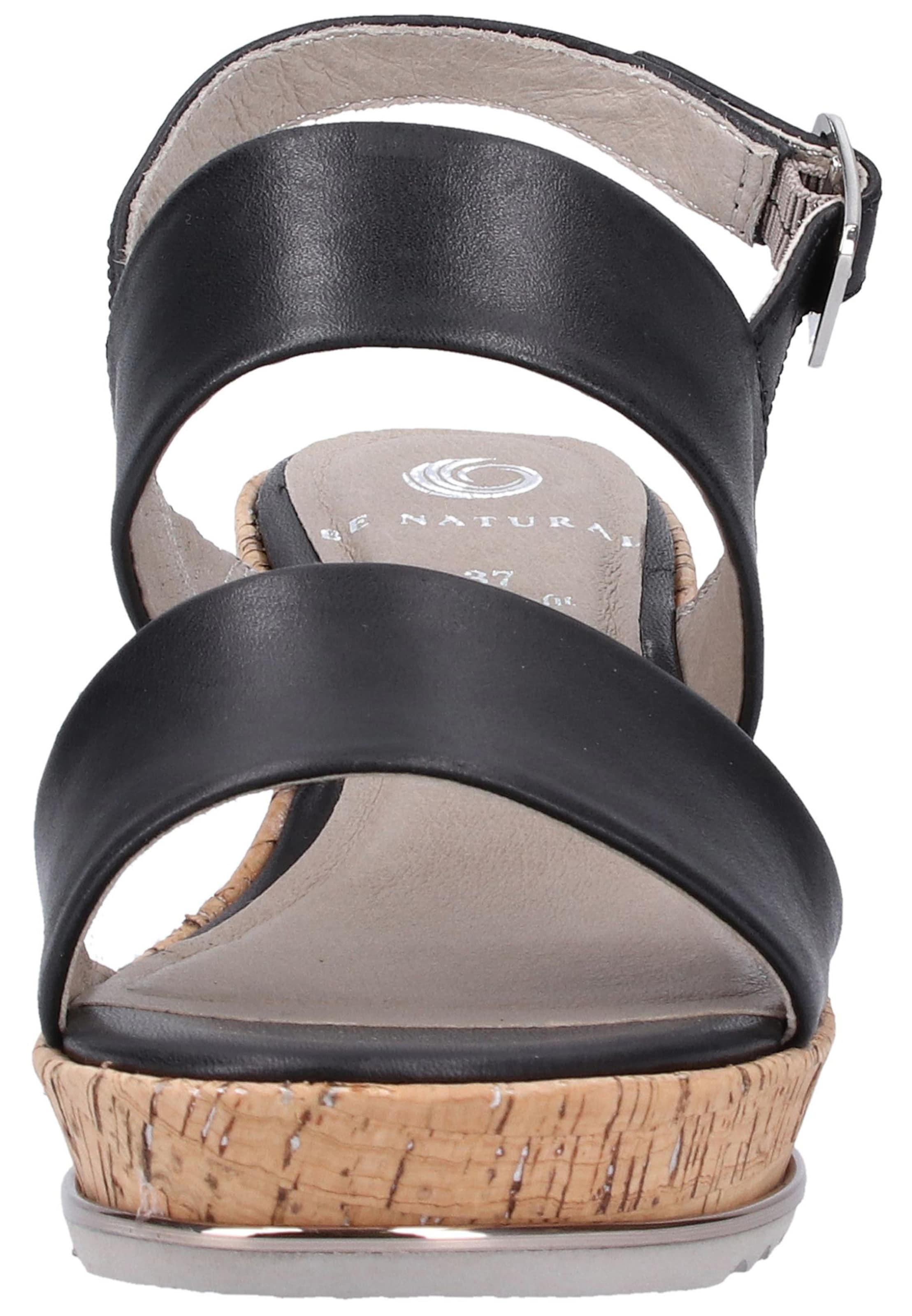Natural In Be Sandalen Natural In Schwarz Sandalen In Be Be Natural Schwarz Sandalen EYWH9DI2
