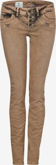 STREET ONE Jeans 'Crissi' in hellbraun / schwarz, Produktansicht