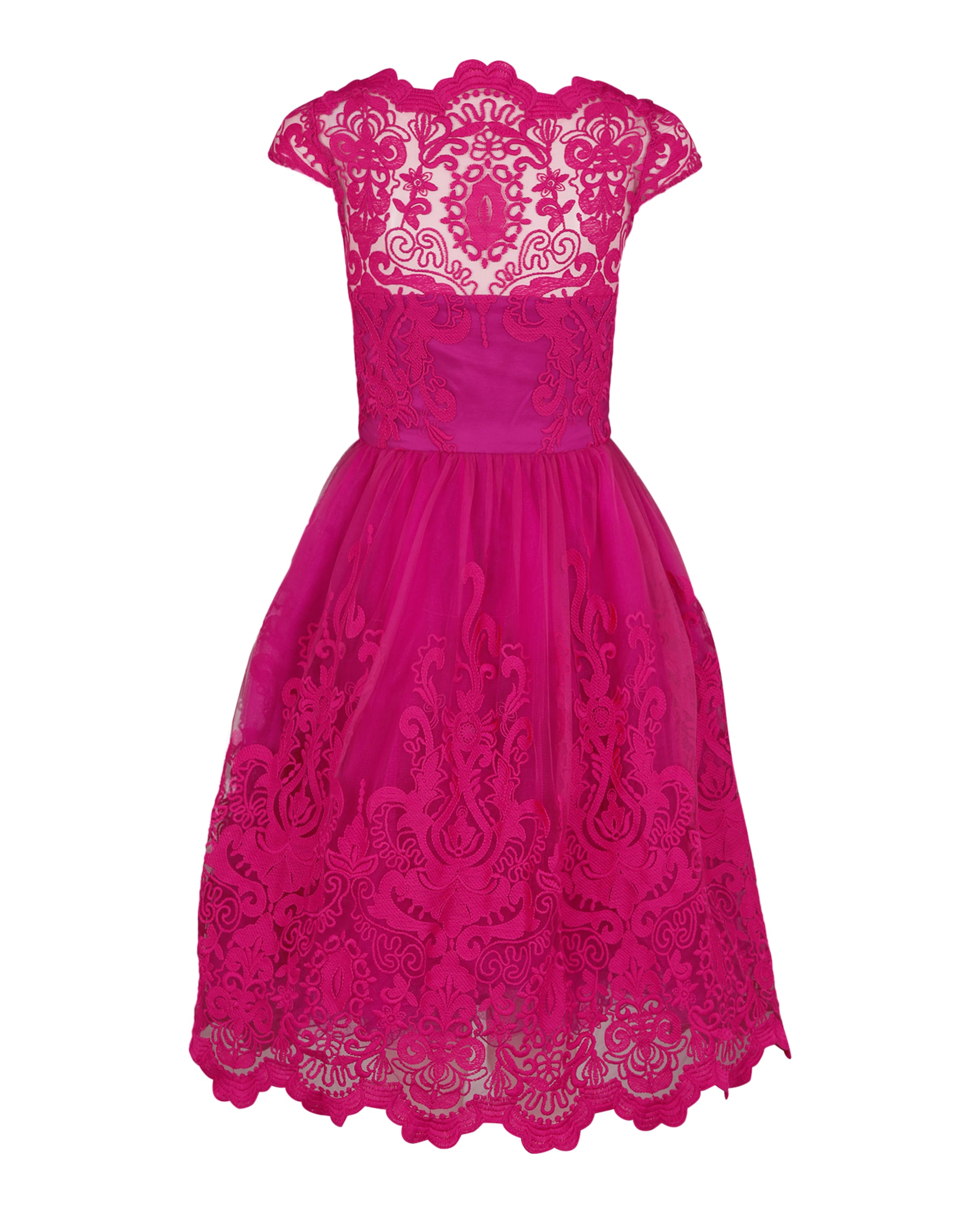 Robe Chi De Cocktail London En 'suki' Magenta ID9H2YWE