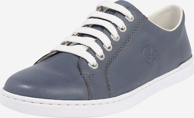 RIEKER Sneaker 'Lugano' in blau / weiß, Produktansicht