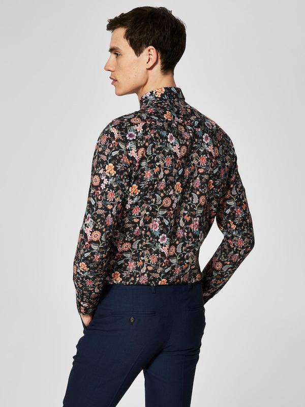 SELECTED HOMME Blumenprint Hemd