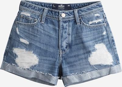 Džinsai 'MOM MED SHRED' iš HOLLISTER , spalva - tamsiai (džinso) mėlyna, Prekių apžvalga
