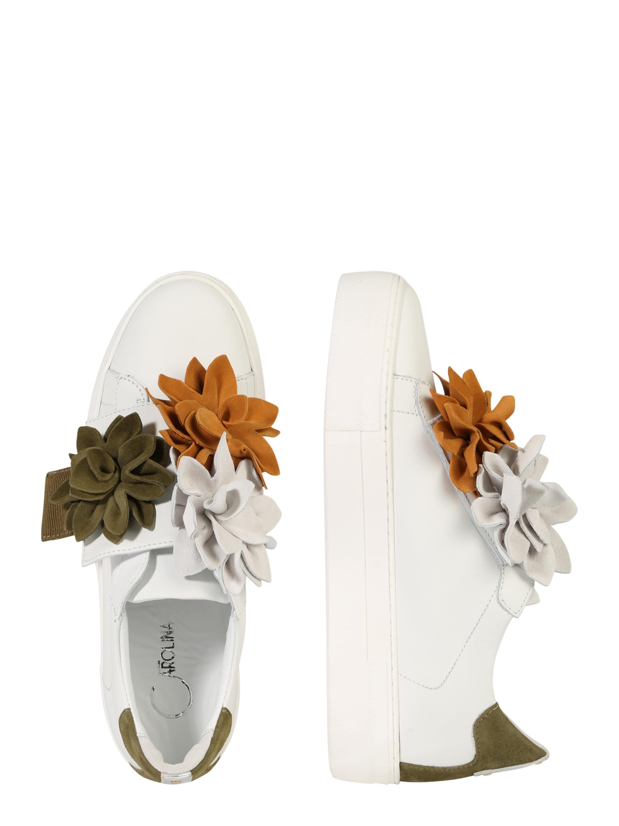 Donna Carolina Sneaker mit Blumenapplikation Die Besten Preise Verkauf Online Niedrige Versandgebühr Verkauf Online 3nzdor38k9
