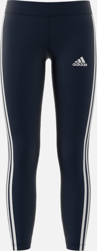 ADIDAS PERFORMANCE Sportleggings 'YG TR EQ 3S L T' in navy / weiß, Produktansicht
