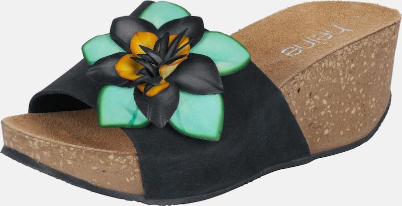heine | Pantolette mit Blütenapplikation