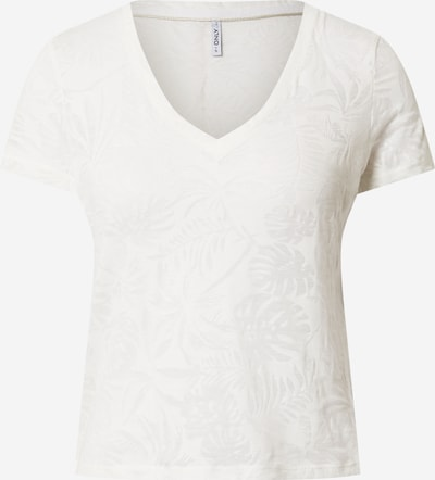 ONLY Shirt 'Ofelia' in offwhite: Frontalansicht
