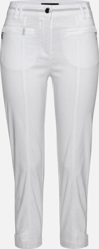 Navigazione Stretchhose in weiß  Neue Kleidung in dieser Saison