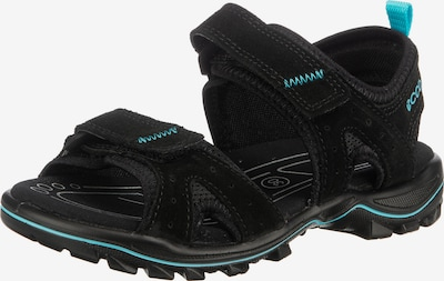 myToys-COLLECTION Sandalen in neonblau / schwarz, Produktansicht
