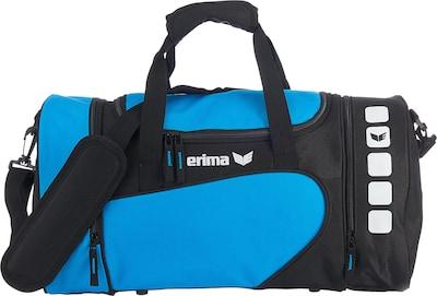 ERIMA Sporttasche in hellblau / schwarz / weiß, Produktansicht