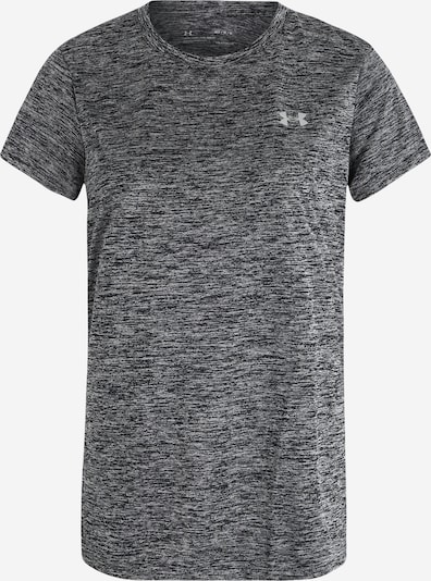UNDER ARMOUR Functioneel shirt in de kleur Donkergrijs / Wit, Productweergave