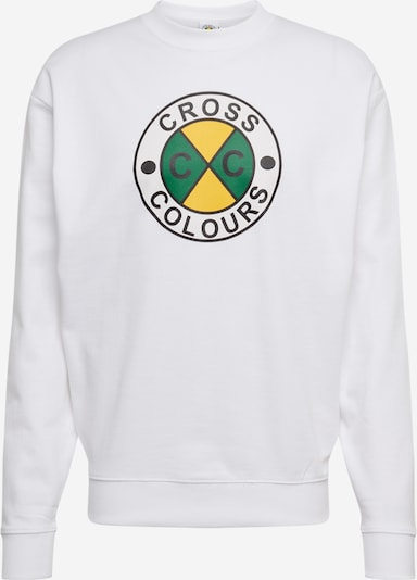 CROSS COLOURS Sweatshirt in weiß, Produktansicht