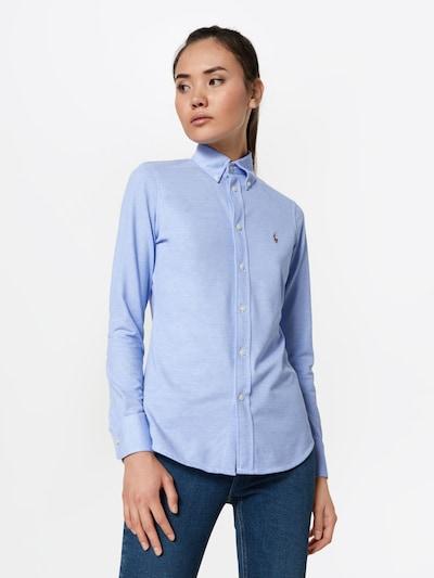POLO RALPH LAUREN Bluse 'HEIDI' in hellblau, Modelansicht