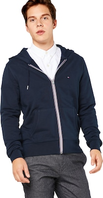 TOMMY HILFIGER Sweatshirtjacke 'CORE COTTON ZIP HOODIE'