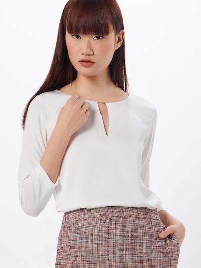 HUGO Bluse in weiß, Modelansicht