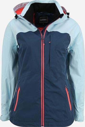 ICEPEAK Jacke 'BAGLEY' in hellblau / dunkelblau, Produktansicht
