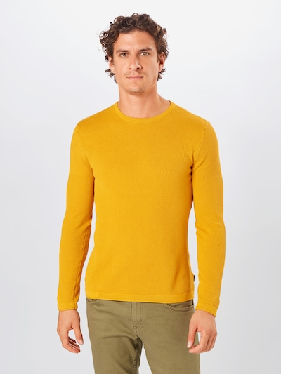 Only & Sons Pullover 'PANTER' in goldgelb: Frontalansicht
