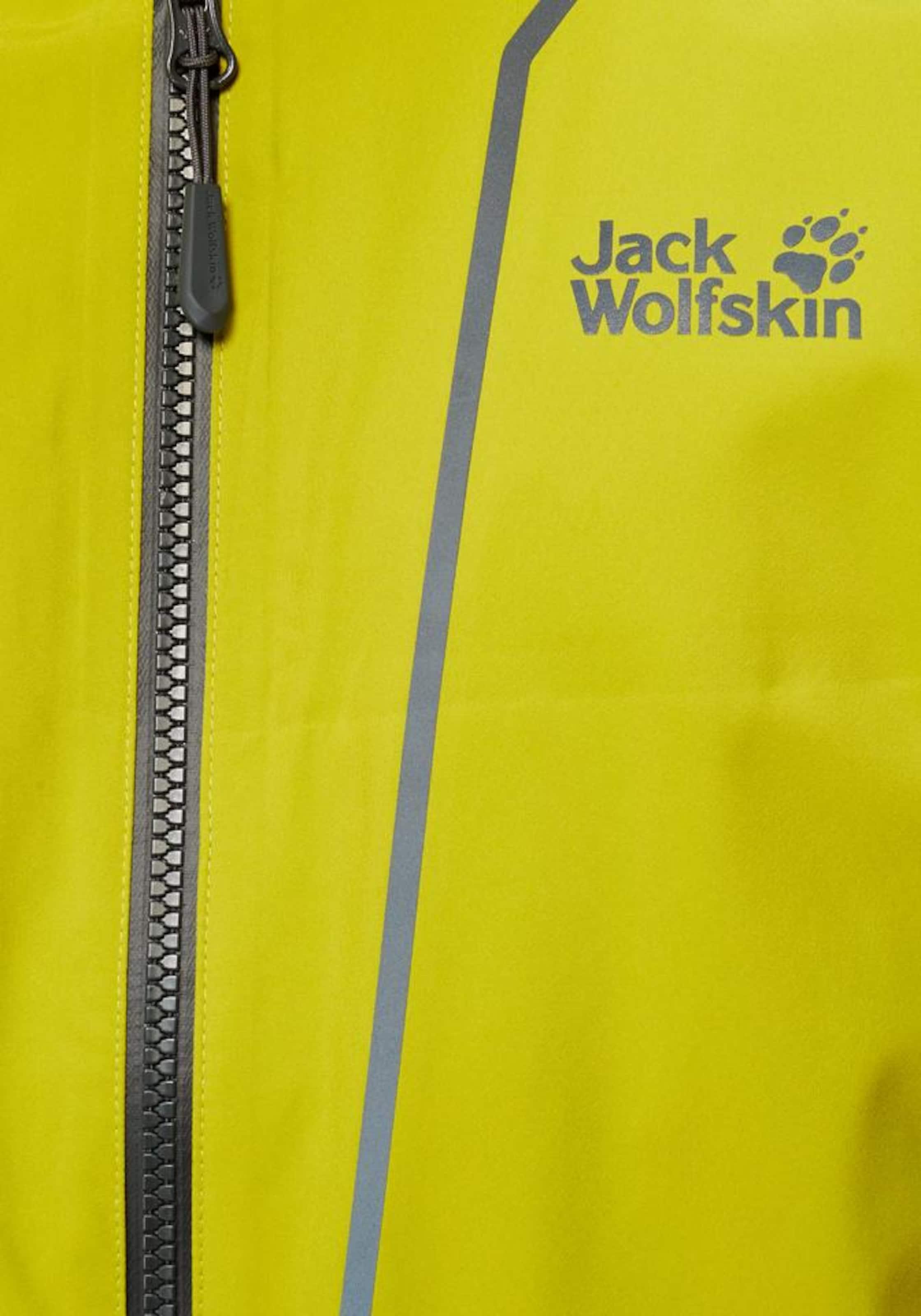 Funktionsjacke In Zitronengelb Jack Wolfskin 'sierra Trail' DH9eE2WIY