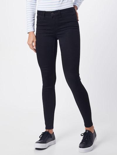 PIECES Jeans in schwarz, Modelansicht