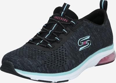 SKECHERS Sneakers laag 'Air Edge' in de kleur Aqua / Pitaja roze / Zwart, Productweergave