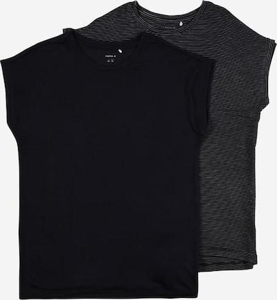 NAME IT Shirt in nachtblau / grau, Produktansicht