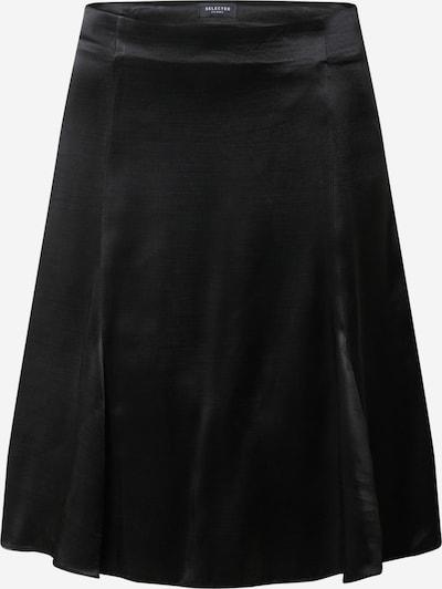 SELECTED FEMME Rock 'Maralda' in schwarz: Frontalansicht