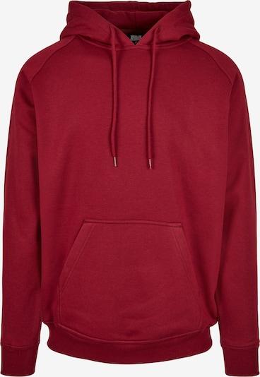 Urban Classics Sweatshirt in kirschrot, Produktansicht