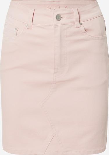 VILA Jeansrock 'VICASSIE' in rosa, Produktansicht