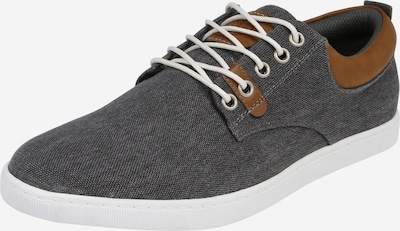 BULLBOXER Sneaker Low in grey denim: Frontalansicht