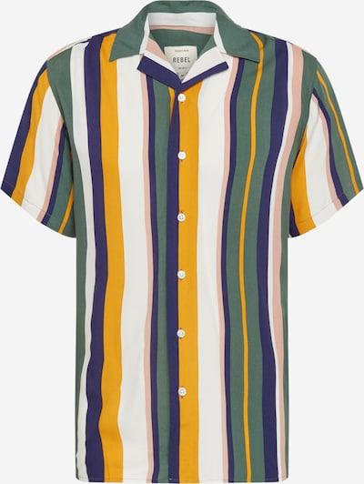Redefined Rebel Риза 'RRLuke Shirt' в синьо / зелено / оранжево / бяло, Преглед на продукта
