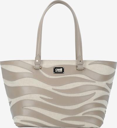 roberto cavalli Meryl Shopper Tasche Leder 30 cm in beige, Produktansicht