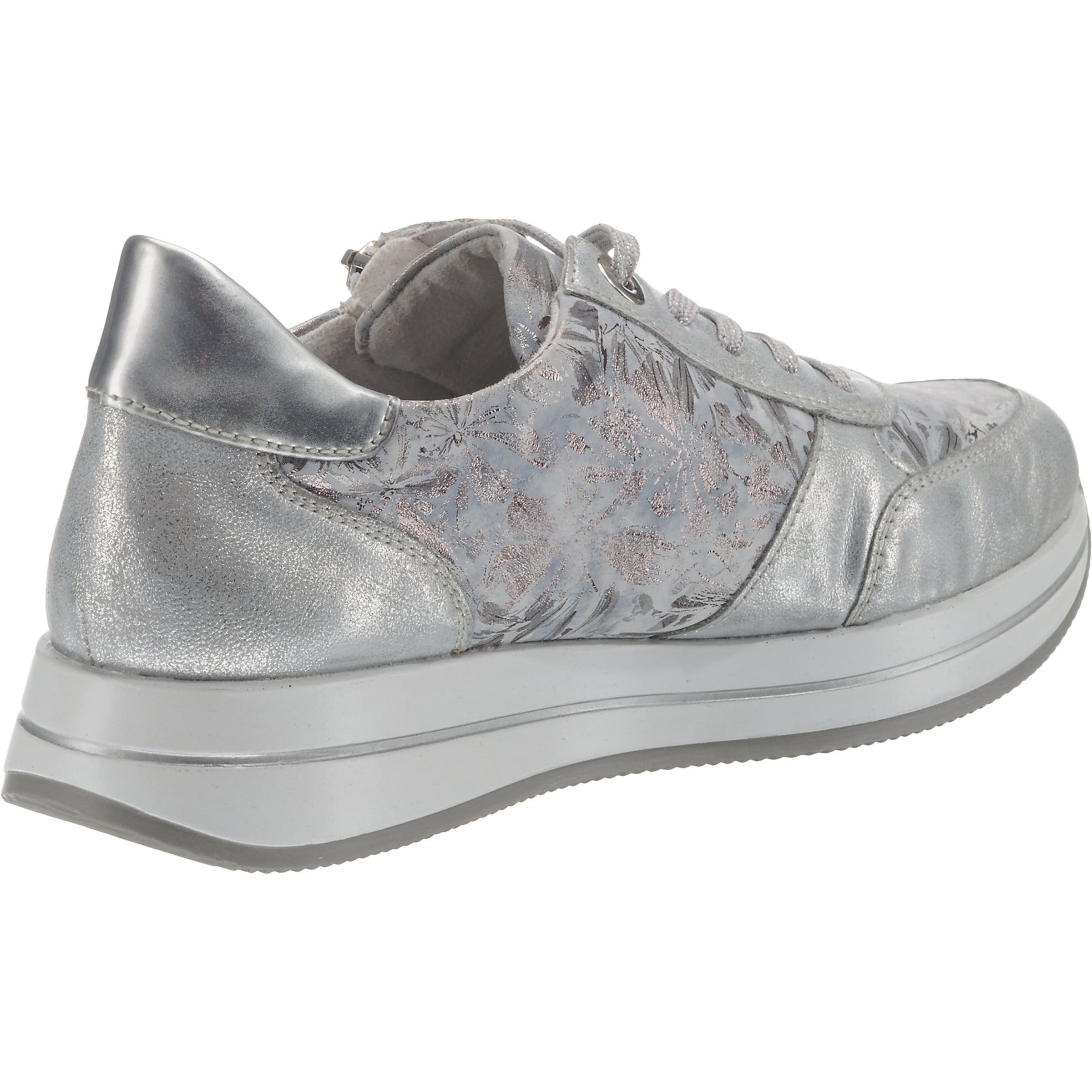 Low Silber Sneakers In Remonte shCBQrxtd