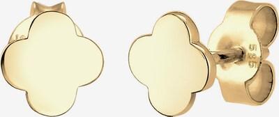 ELLI PREMIUM Ohrringe 'Kleeblatt' in gold, Produktansicht