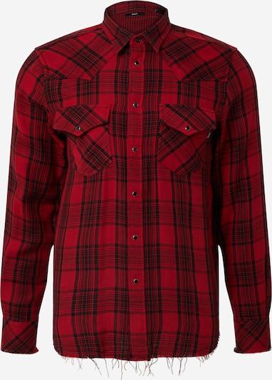 DIESEL Overhemd 'S-Eeast' in de kleur Rood / Zwart, Productweergave