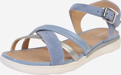 GEOX Sandale 'D S.HIVER' in blau / silber, Produktansicht