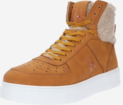 TOMMY HILFIGER Sneakers hoog 'Lewis Hamilton Shearling High Top' in de kleur Cognac, Productweergave